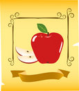 Apple illustration Stock Photos