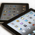 Apple Ipad 2 vs Ipad 1 Royalty Free Stock Photos