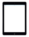 Apple ipad air the latest template illustration on white background Royalty Free Stock Photos