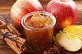 Apple jam Royalty Free Stock Image