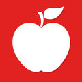 Apple label vector Royalty Free Stock Photo