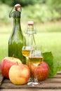 Apple liqueur Stock Images