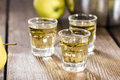 Apple Liqueur Royalty Free Stock Photo