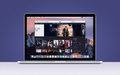 Apple MacBook Pro Retina with an open iTunes movies app