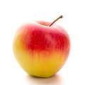 Apple one isolated over white background fresh fruit Royalty Free Stock Photography