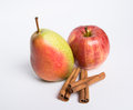 Apple with pears Royalty Free Stock Photo