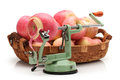 Apple peeler Stock Photos