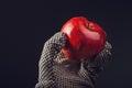 Apple picker Royalty Free Stock Photo
