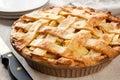 Image : Apple Pie fruits green hand