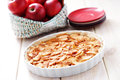 Apple pie homemade sweet food Royalty Free Stock Images
