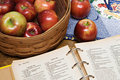 Apple Pie Recipe Royalty Free Stock Photo