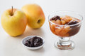 Apple & Prune Compote Royalty Free Stock Photo