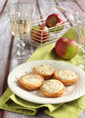 Apple Ricotta Tarts Stock Photos