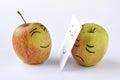 Jablko smutek