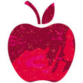 Apple sketch Royalty Free Stock Photography