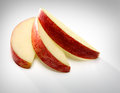 Apple sliced Royalty Free Stock Photo