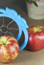 Apple slicer tool Royalty Free Stock Photo