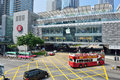 Apple store in ifc mall central hong kong Royalty Free Stock Photography