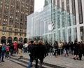 Apple Store in New York City Stock Photo