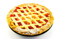 Apple and Strawberry Pie Royalty Free Stock Photo