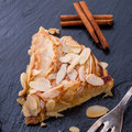 Apple tart with zimt a frersh and tasty Royalty Free Stock Photos