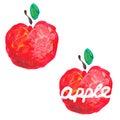 Apple vector art Stock Foto's