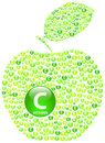 Apple vert Images stock