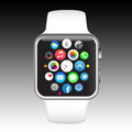 Apple iPhone watch Royalty Free Stock Photo