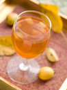 Apple wine or cider Stock Images