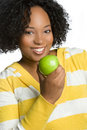 Apple Woman Stock Photography