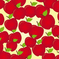 Apples cartoon Stock Photos