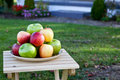 Apples at Home Royalty Free Stock Photos
