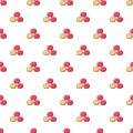 Apples pattern seamless