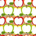 Apples seamless Royalty Free Stock Images