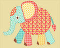 Application elephant. Royalty Free Stock Photos