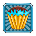 The application icon with cacke