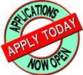Applications Now Open – Apply today