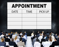 Appointment Schedule Memo Management Organizer Urgency Concept Royalty Free Stock Photo