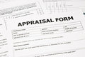 Appraisal form and paperwork Stock Photography