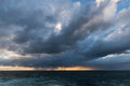 Approaching storm clouds Royalty Free Stock Photo