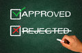 Approved not rejected
