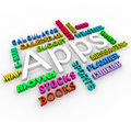 Apps - Smart Phone Application Word Collage Stock Photo