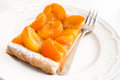 Apricot cake Royalty Free Stock Photo