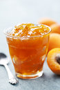 Apricot jam Royalty Free Stock Photos