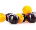Apricot, peach plum Royalty Free Stock Photo