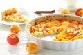 Apricot pie Royalty Free Stock Photo