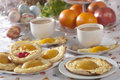 Apricot pies Royalty Free Stock Images