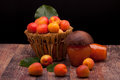 Apricots And Homemade Jam Royalty Free Stock Images