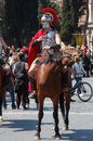 April the birthday of rome italy is a laic festivities linked to founding city celebrated with a Royalty Free Stock Image