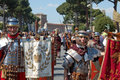 April the birthday of rome italy is a laic festivities linked to founding city celebrated with a Stock Image